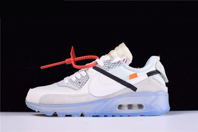 Mens and WMNS Virgil Abloh's OFF-WHITE x Nike Air Max 90