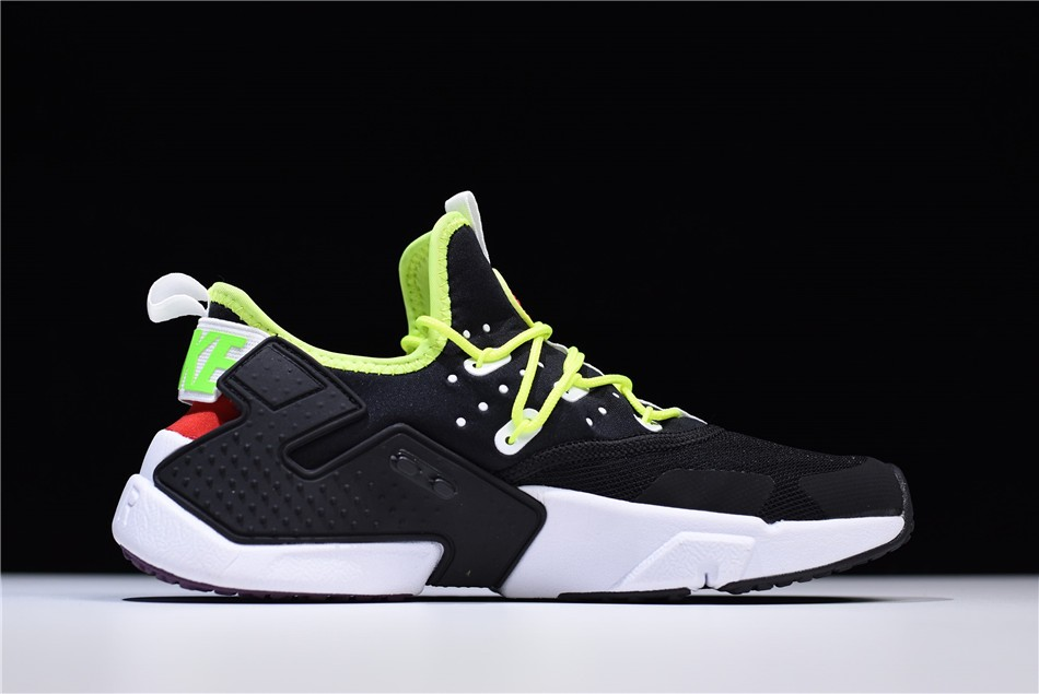 Nike Air Huarache Drift PRM Black/Volt Men's Running Shoes AH7334-018