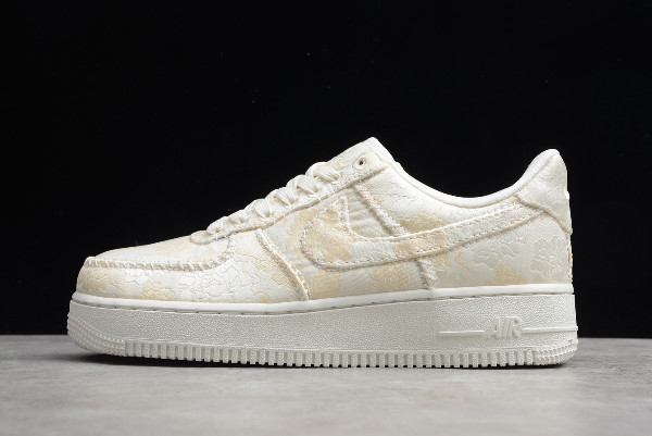 2019 Nike Air Force 1 '07 PRM 3 Pale Ivory AT4144-100 For Sale