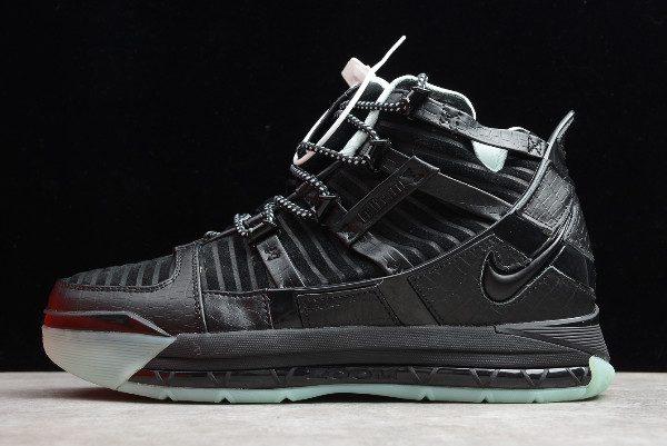 2019 Nike Zoom LeBron 3 QS Black/Month AO2434-010