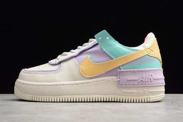 2019 Wmns Nike Air Force 1 Shadow Pale Ivory/Celestial Gold ...