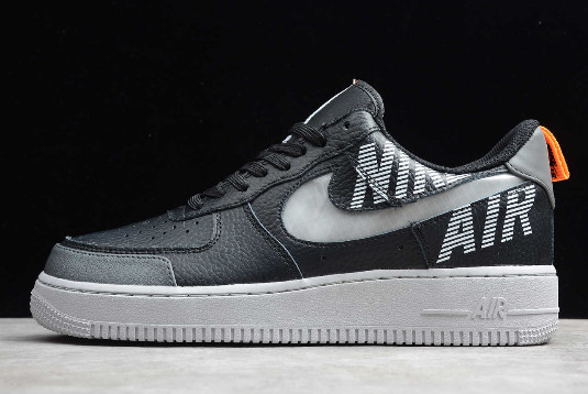 New Nike Air Force 1 Low Under Construction Grey Black BQ4421-300