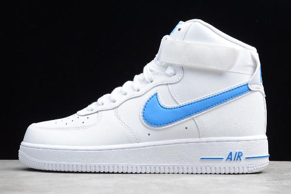 Nike Air Force 1 High '07 3 Photo Blue On Sale