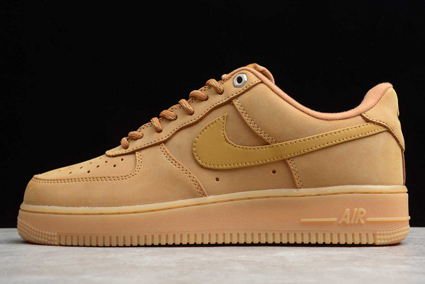 """Nike Air Force 1 Low """"Flax"""" Wheat In Stock"""