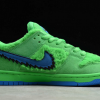 2020 Cheap Grateful Dead x Nike SB Dunk Low Green Bear Shoes CJ5378-300-1