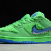 2020 Cheap Grateful Dead x Nike SB Dunk Low Green Bear Shoes CJ5378-300-2