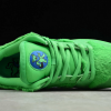 2020 Cheap Grateful Dead x Nike SB Dunk Low Green Bear Shoes CJ5378-300-3