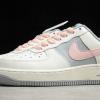 2020 Cheap Women's Shoes Nike Air Force 1 Low Beige/Grey-Pink CW7584-101-2
