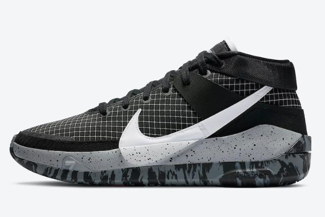 """2020 Cheap Nike KD 13 """"Oreo"""" Black/White-Wolf Grey CI9949-004 Shoes"""