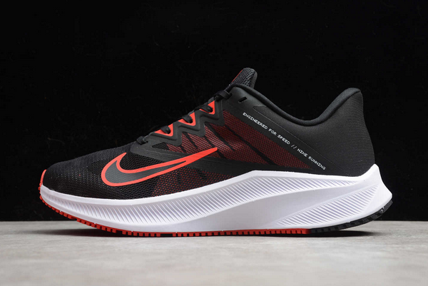 2020 Nike Quest 3 Black/Red-White Running CD0232-100 Shoes