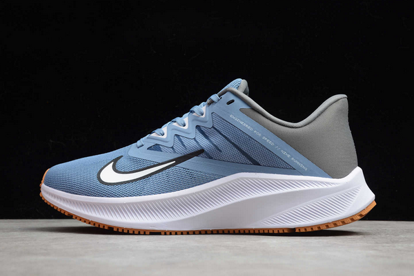 2020 Nike Quest 3 Light Navy/White-Dark Grey Running Shoes Online CD0230-100