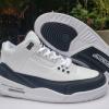 Cheap Fragment x Air Jordan 3 In White/Black DA3595-100-1