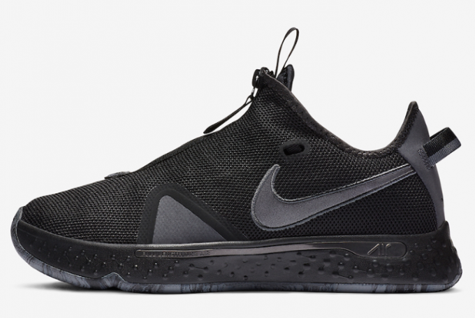 "Cheap Nike PG 4 ""Triple Black"" Basketball CD5082-005"