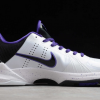 Nike Zoom Kobe 5 Inline White/Black-Vrsty Purple 386429-101-1
