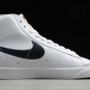2020 Cheap Nike Blazer Mid 77 Reverse Logo Swoosh White DA4651-100-1