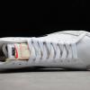 2020 Cheap Nike Blazer Mid 77 Reverse Logo Swoosh White DA4651-100-3
