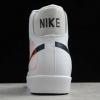 2020 Cheap Nike Blazer Mid 77 Reverse Logo Swoosh White DA4651-100-4