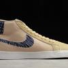 "2020 Cheap Nike SB Blazer Mid ""Sashiko"" Sesame Gum Light Brown CT0715-200-1"