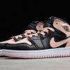 2020 Latest Air Jordan 1 Mid Black/Crimson Tint Kid's Shoes For Sale 554725-081-2