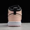2020 Latest Air Jordan 1 Mid Black/Crimson Tint Kid's Shoes For Sale 554725-081-4