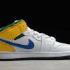 2020 Latest Kids Air Jordan 1 Mid Alternate Multi-Color Shoes 554725-128-1
