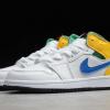 2020 Latest Kids Air Jordan 1 Mid Alternate Multi-Color Shoes 554725-128-2