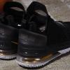 2020 Men's Nike LeBron 18 Black/Metallic Gold-White Basketball Shoes-4