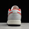 2020 Air Jordan 1 Low White Red New Sale DA4668-001-2