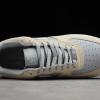 2020 Shop Nike Air Force 1 '07 Yellow/Grey-White AH0287-209-3