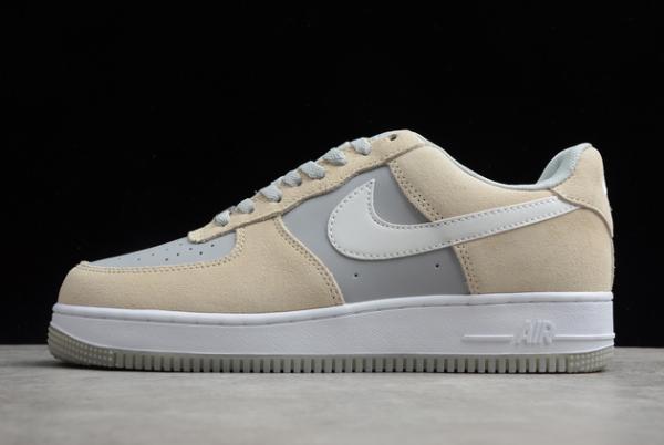 2020 Shop Nike Air Force 1 '07 Yellow/Grey-White AH0287-209