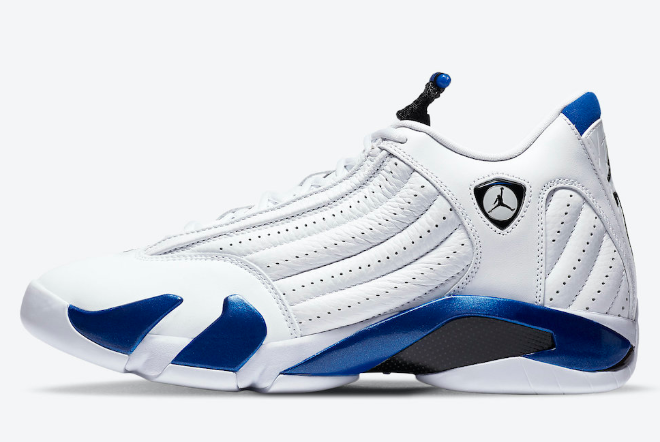 487471-104 Latest Air Jordan 14 Hyper Royal On Sale