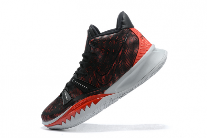 Buy Nike Kyrie 7 Black/University Red-White Shoes