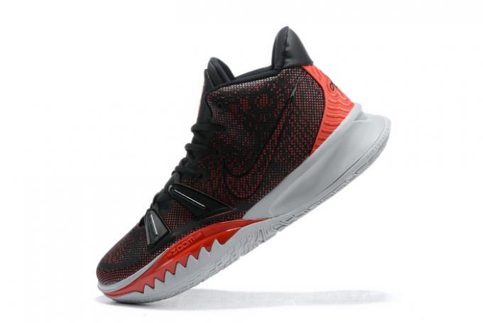 Buy Nike Kyrie 7 Black/University Red-White Shoes