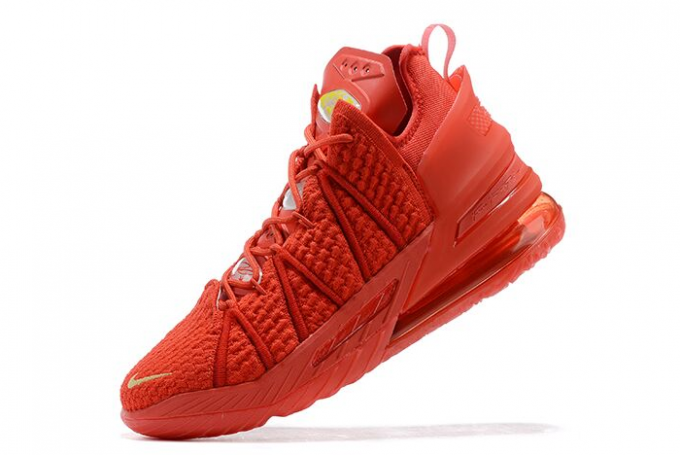 Cheap Nike LeBron 18 University Red/Gold Shoes