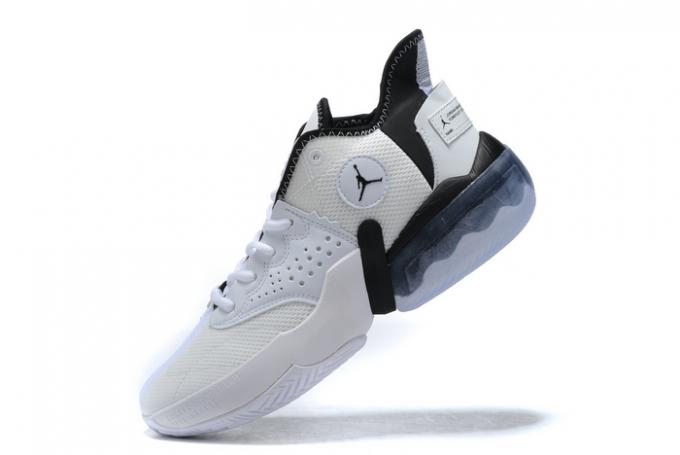 Mens Jordan React Elevation PF White/Black Shoes