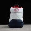 "New Nike KD 13 ""USA"" White/Obsidian/Sport Red Sneaker CI9948-101-3"