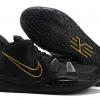 New Nike Kyrie 7 Black/Metallic Gold Shoes-1