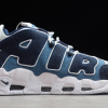Shop Nike Air More Uptempo Denim Blue White CJ6125-100-1