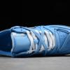 2020 Cheap Off-White x Nike Air Force 1 07 Low University Blue/Black-White Shoes CK0866-401-3