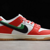 2020 Frame Skate x Nike SB Dunk Low Habibi Chile Red/White-Lucky Green-Black Shoes CT2550-600-1