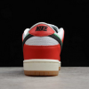 2020 Frame Skate x Nike SB Dunk Low Habibi Chile Red/White-Lucky Green-Black Shoes CT2550-600-4