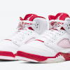 "Latest 440892-106 Air Jordan 5 ""Pink Foam"" White/Pink Foam-Gym Red Shoes-3"