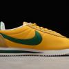 2020 Latest Nike Cortez Nylon Oregon Yellow/Gorge Green 876873-700 Sale-1