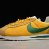 2020 Latest Nike Cortez Nylon Oregon Yellow/Gorge Green 876873-700 Sale-2