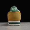 2020 Latest Nike Cortez Nylon Oregon Yellow/Gorge Green 876873-700 Sale-3