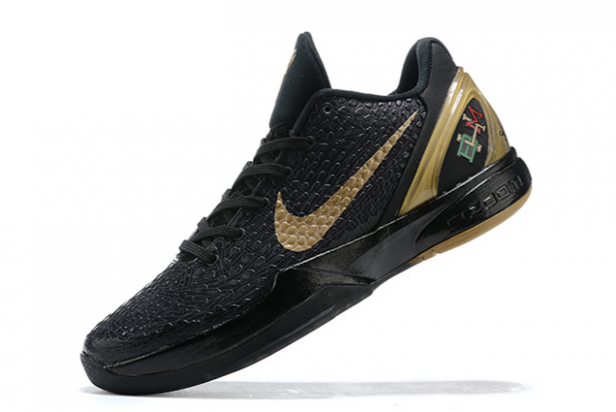 "2020 Latest Nike Kobe 6 Protro ""BHM"" Black/Metallic Gold"