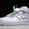 2020 Nike Air Force 1 '07 Mid White/Black-Chameleon To Buy 368732-810-2