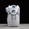 2020 Nike Air Force 1 '07 Mid White/Black-Chameleon To Buy 368732-810-4