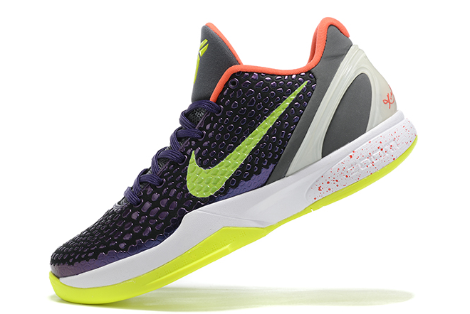 "2020 Nike Kobe 6 Protro ""Chaos"" Ink/Dark Grey-White-Volt Shoes Outlet Online CW2190-500"
