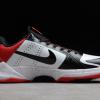 Brand New Nike Zoom Kobe 5 Protro White Black Red Shoes 386429-100-2